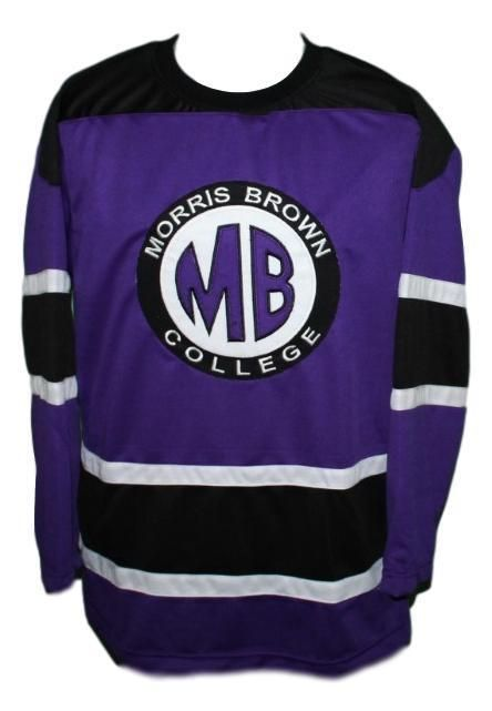 Martin Payne Morris Brown College TV Show Hockey Jersey New Purple Any Size   Unbranded 8ea3ef9ae