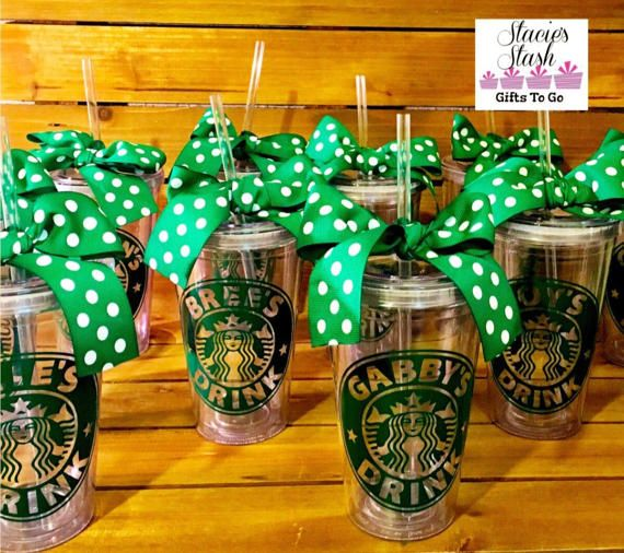 Image result for starbucks party favors