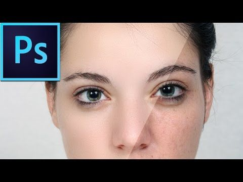 Frequency Separation Retouching in Photoshop - YouTube