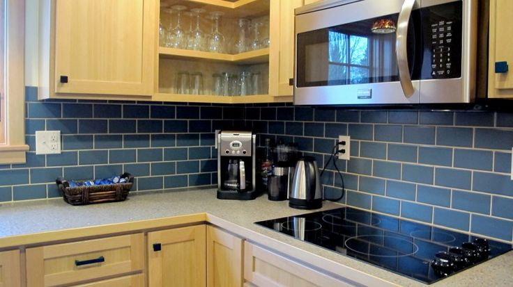 Blue Backsplash Kitchen Backsplash Subway Tile Kitchen Subway Tiles