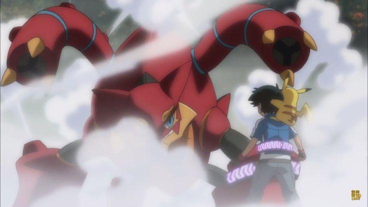 Vídeo promocional de la película Pokémon the Movie XY & Z: Volcanion to Karakuri no Magearna.