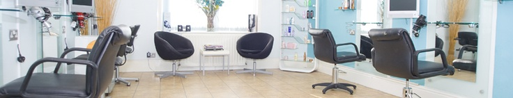 Montage Hairdressers, Worthing show how to use subtle colours in the salon.