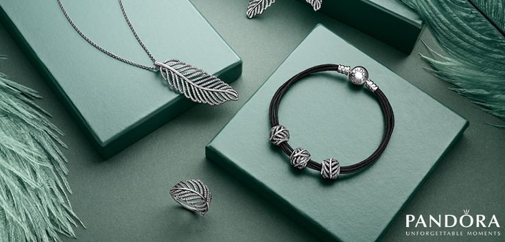 791186CZ- Feather or Silver Fern Set  Represents new hope, life, beginnings   Charm is $85