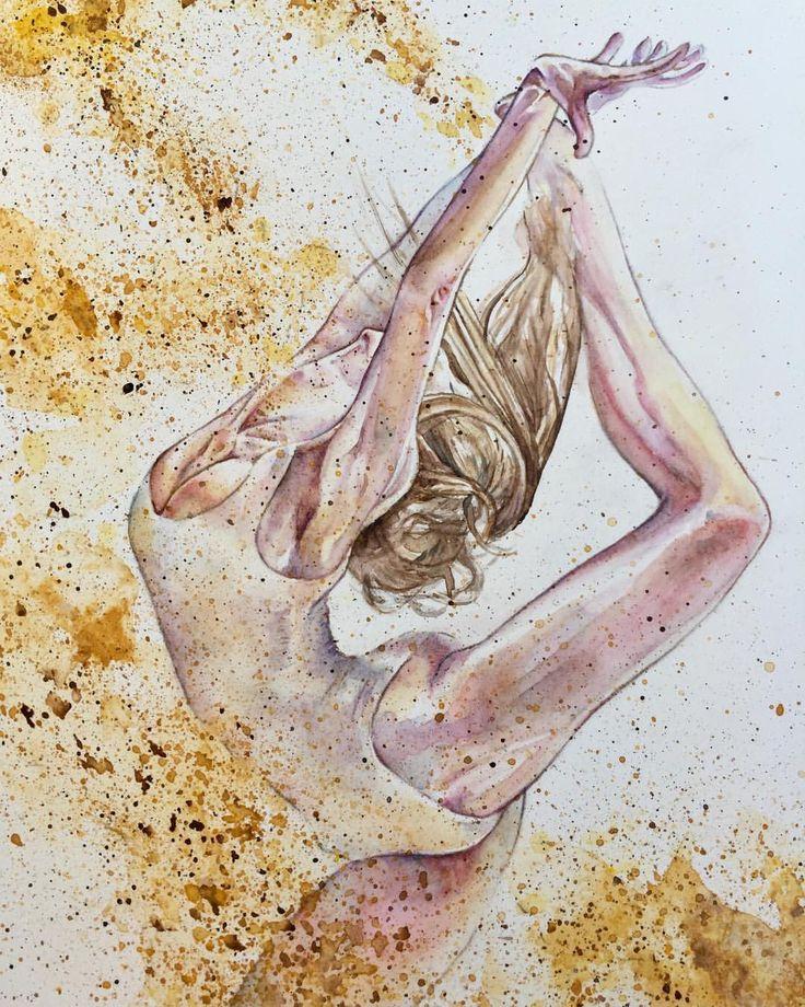 """Mi piace"": 132, commenti: 12 - Anna G. (@anna_g_fashion) su Instagram: ""~ Powder Dancer ~ Watercolour ~ Details…"""