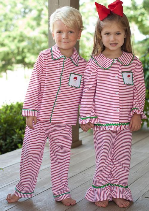 Christmas morning pajamas!