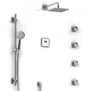 riobel shower system with electric valve