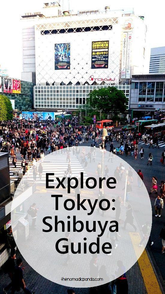 Explore Tokyo: A guide to shopping and entertainment in Shibuya, Tokyo, Japan.