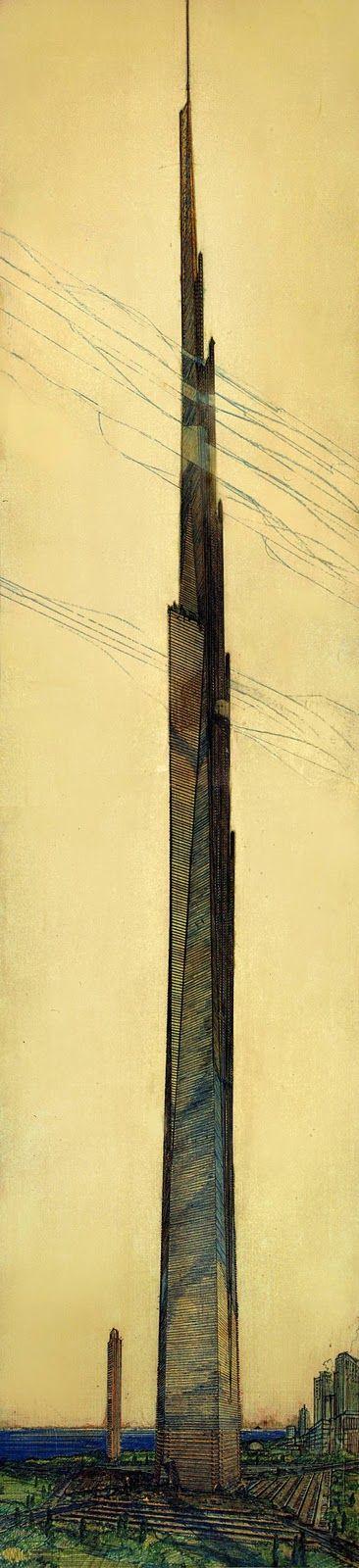 : The Tower ILLINOIS: Frank Lloyd Wrights Mile High Skyscraper