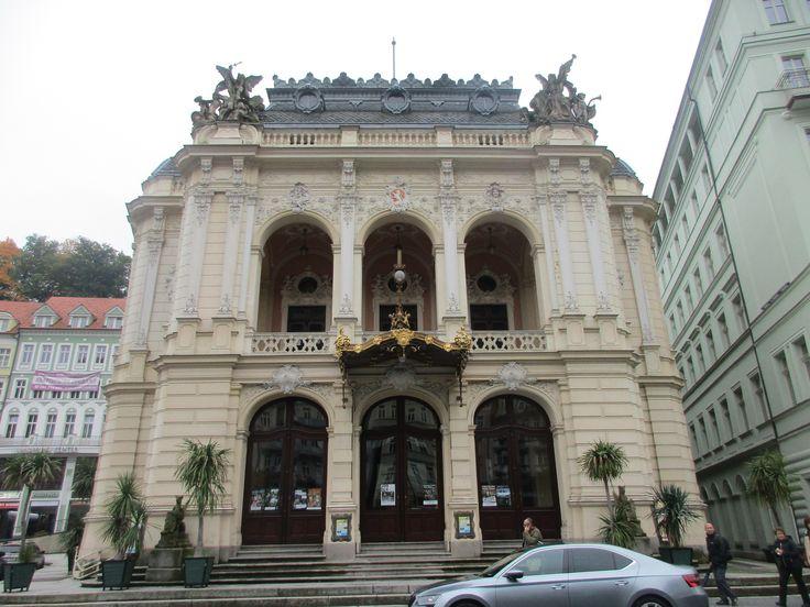 Divadlo - Karlovy Vary - Česko