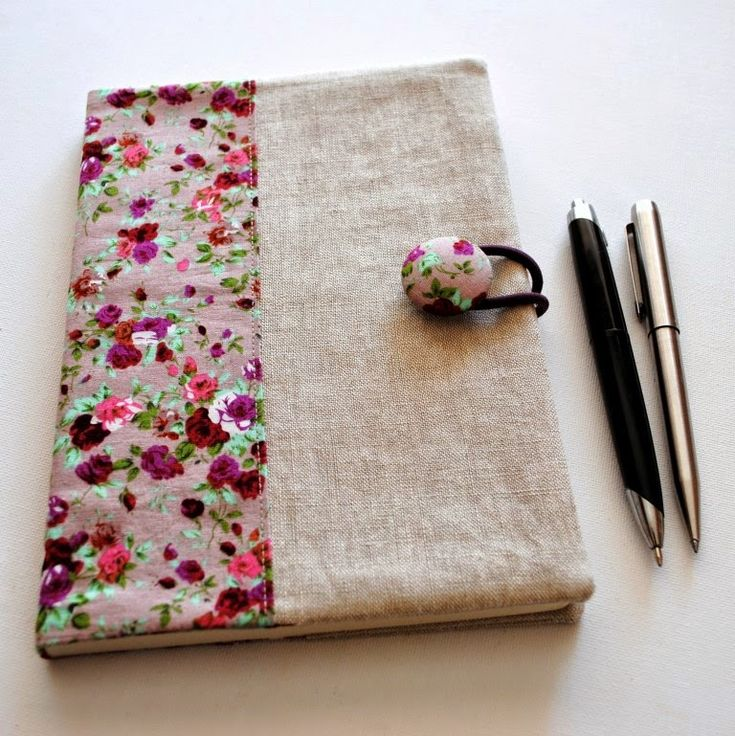 Fabric Notebook Cover Tutorial