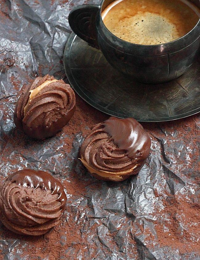 Délices d'Orient: Sablé viennois tout chocolat