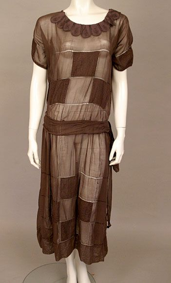 1920s day dress inspired by the art deco era the prints for Art deco era clothing