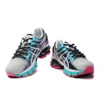 x9bd Zapatos Asics Gel Kinsei 4 Hombre Gris/Azul