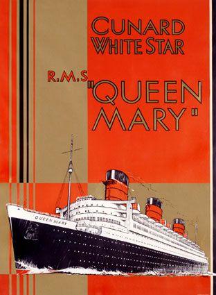 Cunard White Star - Queen Mary