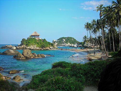 La 2ª mejor playa del mundo: Parque nacional natural Tayrona, en Colombia.