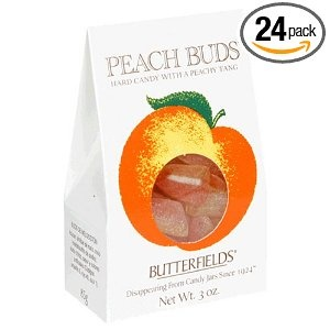 Old Fashioned Peach Buds Candy With Coconut Center