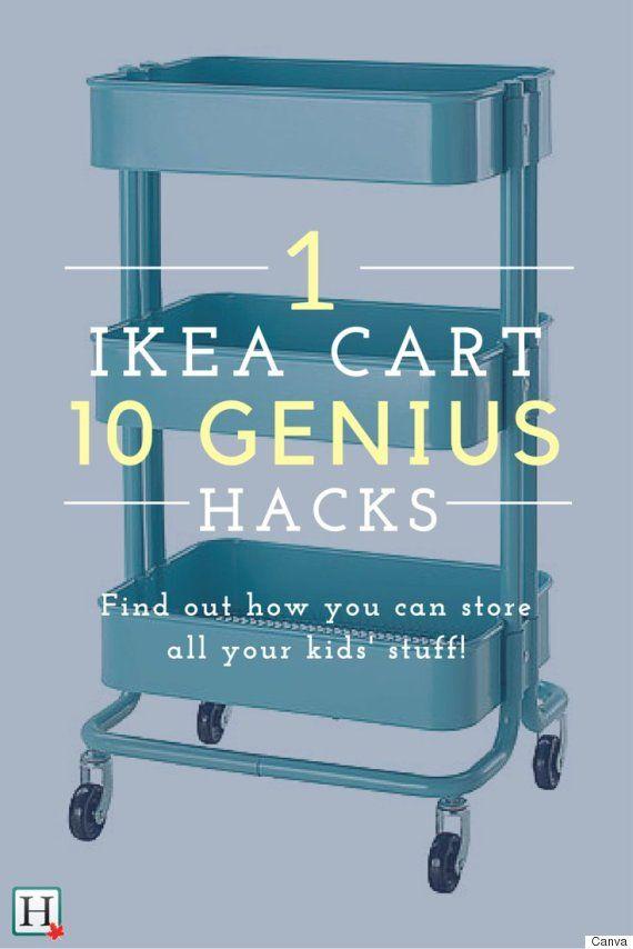 IKEA Hacks: 10 Reasons Every Parent Needs The Raskog Cart