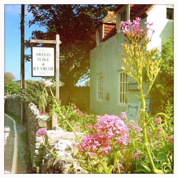 Lulworth Cove ice cream parlour
