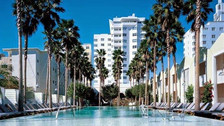 HOTEL|アメリカ・マイアミのホテル>マイアミ・ビーチの柔らかな砂浜に位置する都市型ホテル>デラノ サウスビーチ(Delano South Beach)