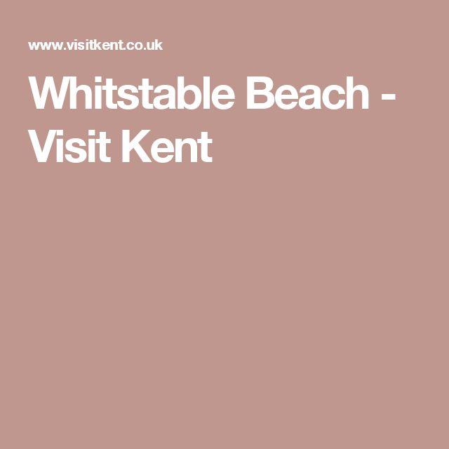 Whitstable Beach - Visit Kent