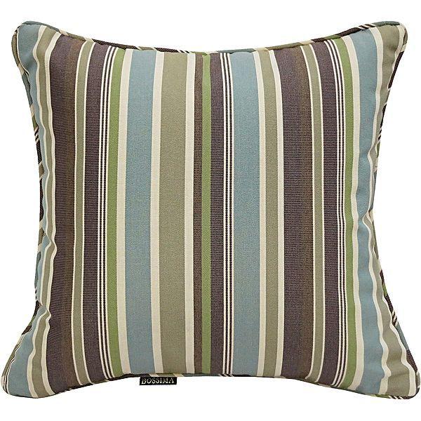 Simpkin Cyan Stripe Outdoor Scatter Cushion