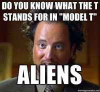 Um Dia fui ao Cinema: Ancient Aliens Meme