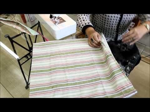 Patchwork Sem Segredos: Aula 12 Como colocar forro embutido em Bolsas - YouTube
