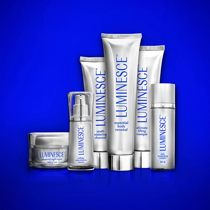 Have you tried LUMINESCE™? Look younger, healthier, and more radiant as this revolutionary serum helps you restore life to tired skin.