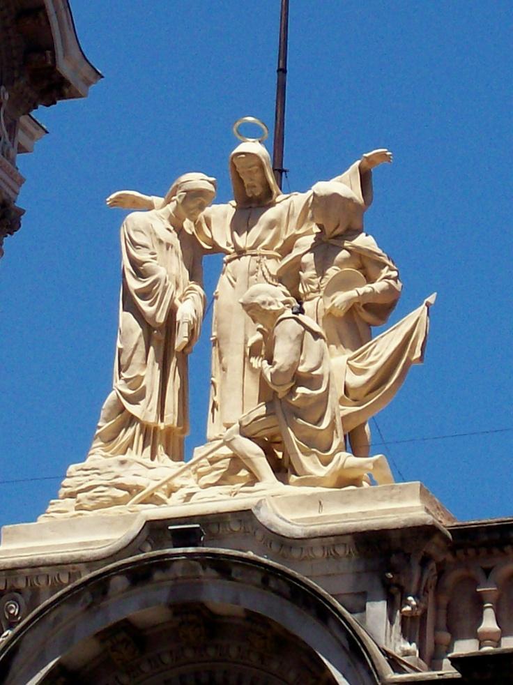 Fachada de la Iglesia de San Ignacio CABA