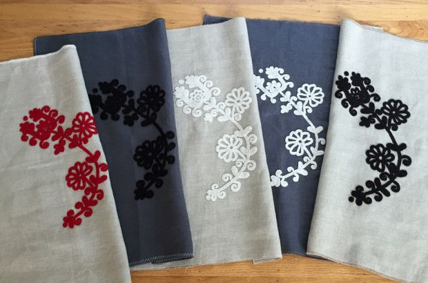 Original Hungarian written embroidery available as a gift for my fundraising campagin: Dutch Textile Traditions: An Artist's Residency | Indiegogo
