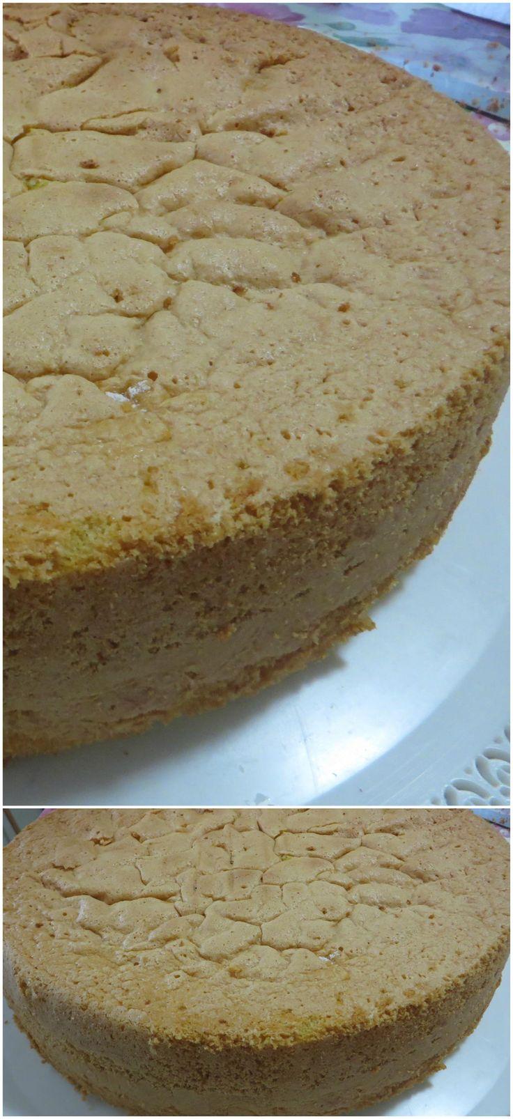 Pan di spagna, la ricetta senza lievito! #pandispagna #ricettegustose