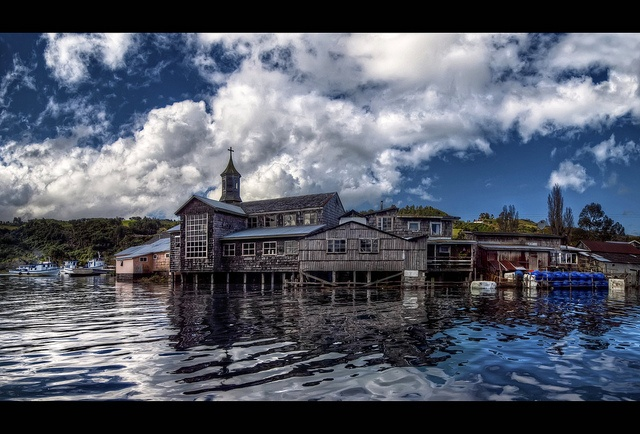 Chiloé Waterfront (HDR)