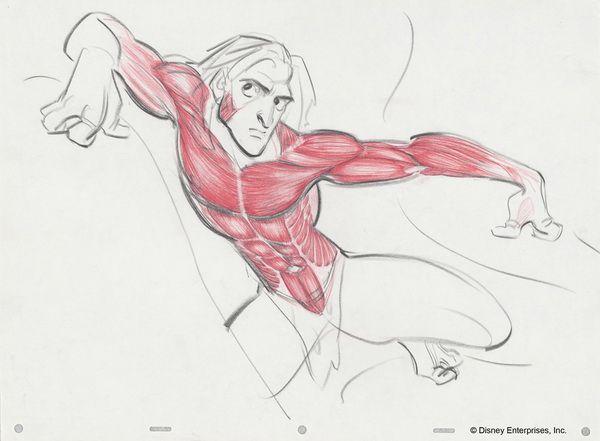 09 Glen Keane Tarzan muscles