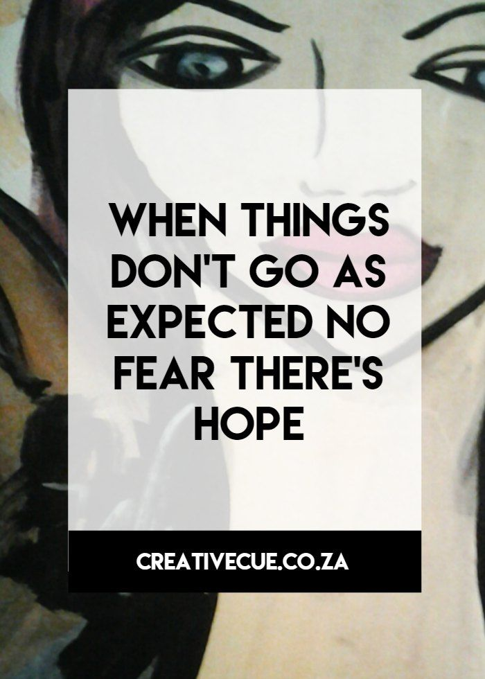 your creative cue to soul filled living, when things dont go as expected there is hope
