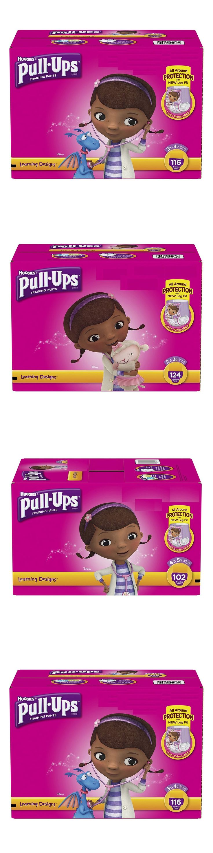 Disposable Diapers 15559: Huggies Pull-Ups Training Pants For Girls Pick Size - Free Expedited Shipping -> BUY IT NOW ONLY: $42.99 on eBay!