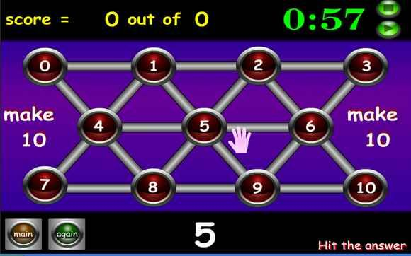 Math games online - multiplication