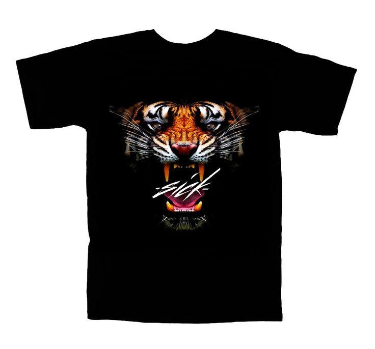 GET WILD AND SICK! #tiger #shirt #sick #streetwear