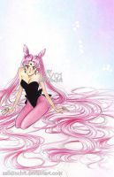 Chibiusa - Black Lady by zelldinchit