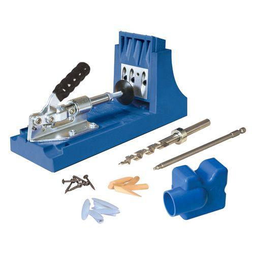 Kreg Jig K4 Pocket Hole System - Rockler.com Woodworking Tools $99.99
