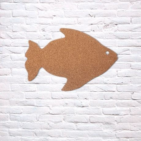 Bokke + Blomme Fish Pinboard – Cork from Cork Deco Collection - R199 (Save 20%)