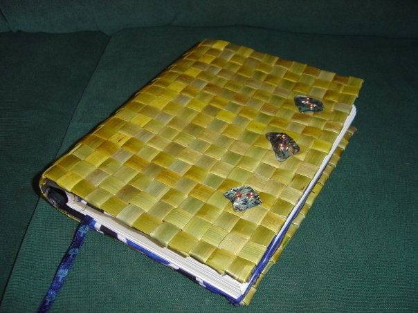Diary cover made by me.
