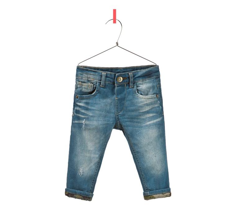 JEANS MET CAMOUFLAGE OMSLAG - Jeans - Baby jongen - Kinderen - ZARA Nederland