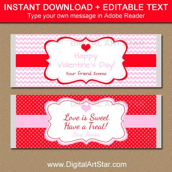 1000+ Ideas About Chocolate Bar Wrappers On Pinterest