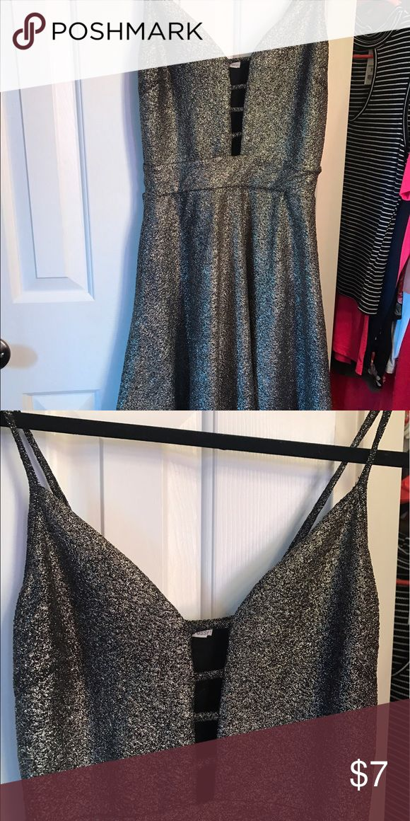 Charlotte rouse dress Gold and black size small only worn once Dresses
