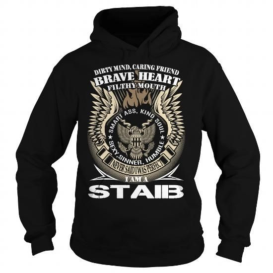 STAIB Last Name, Surname TShirt v1 #name #tshirts #STAIB #gift #ideas #Popular #Everything #Videos #Shop #Animals #pets #Architecture #Art #Cars #motorcycles #Celebrities #DIY #crafts #Design #Education #Entertainment #Food #drink #Gardening #Geek #Hair #beauty #Health #fitness #History #Holidays #events #Home decor #Humor #Illustrations #posters #Kids #parenting #Men #Outdoors #Photography #Products #Quotes #Science #nature #Sports #Tattoos #Technology #Travel #Weddings #Women