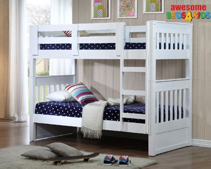 Bayswater Single or King Single Bunk Bed. Premium Quality.