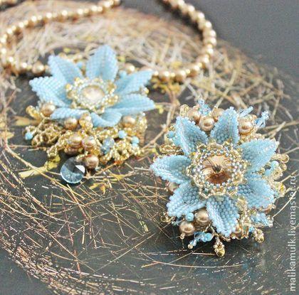 """браслет """"летнее солнцестояние"""" - украшение на руку,браслет из бисера,изящное украшение"""