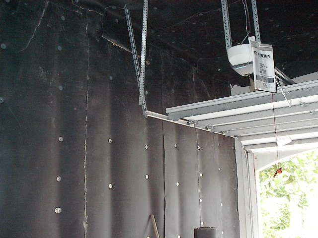 Garage Sound Proofing Sound Barrier Garage Ideas