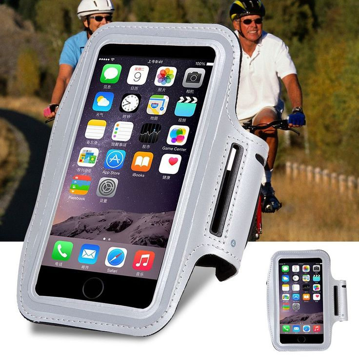 KISSCASE Waterproof Sport Armband For iPhone 6 6s Running GYM Bag Case For Apple iPhone 6 6s 4.7'' Mobile Phone with Key Holder