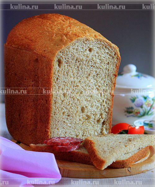 Хлеб полуржаной с медом - рецепт с фото